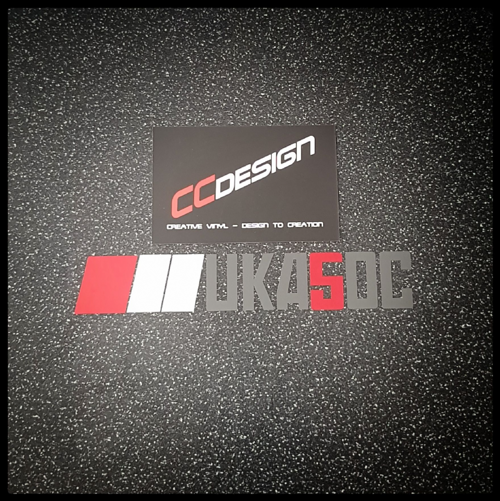 """OFFICIAL"" UKA5OC CLUB STICKER"